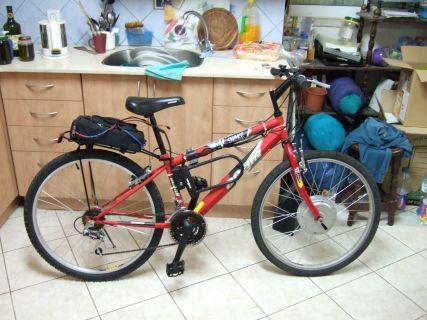 אופניים חשמליים לדוגמא